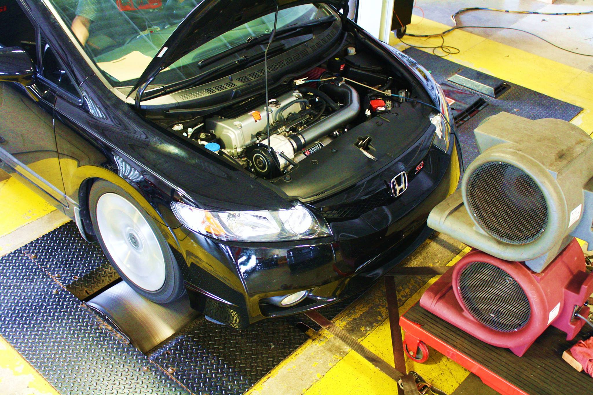 Pics from the shop 8th gen civic si kraftwerks supercharger updated