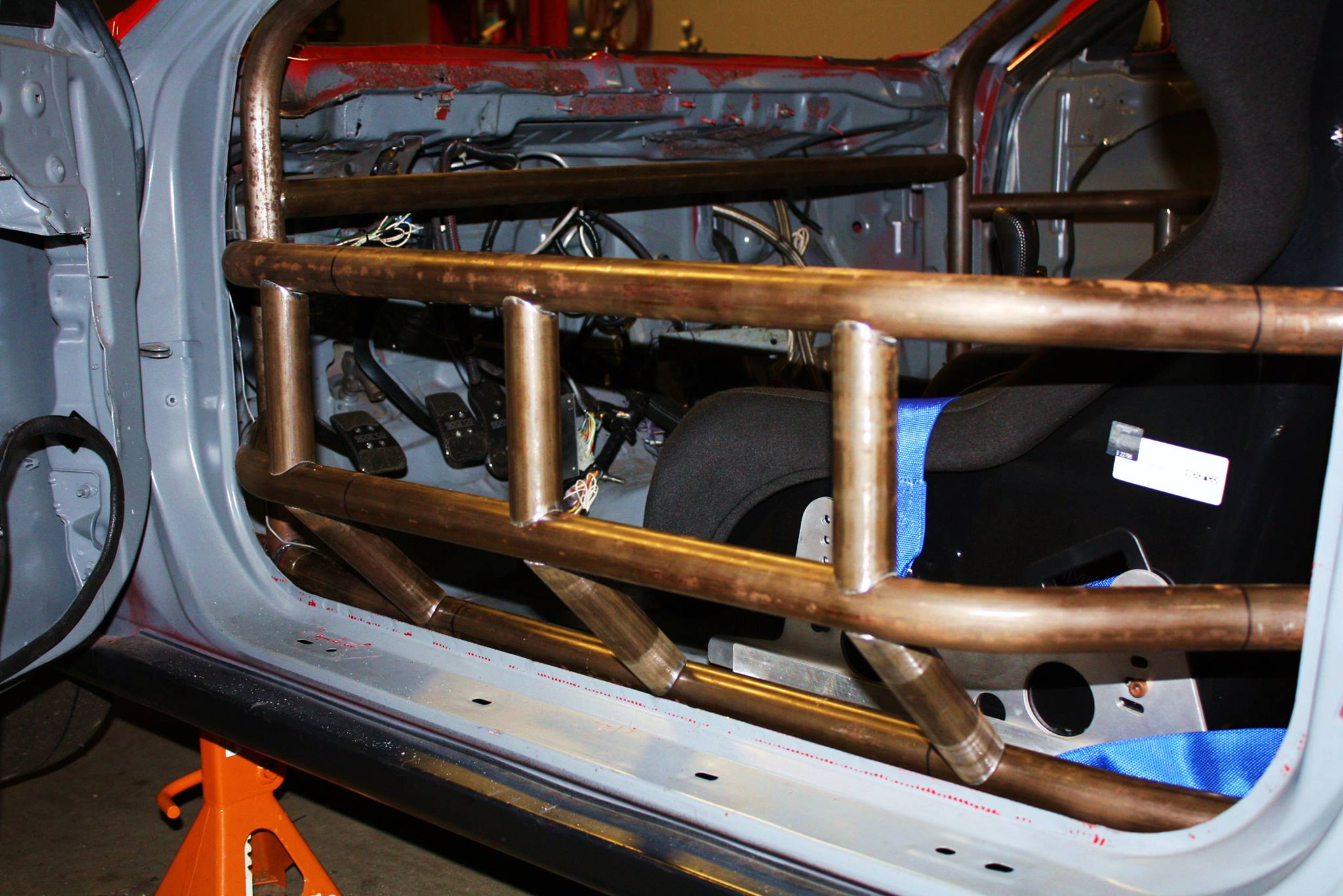 King Motorsports Official Blog In The Shop Dc2 Roll Cage