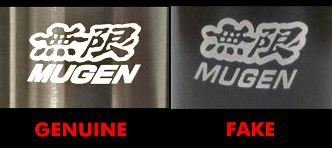 Mugen Formula Shift Knob Genuine vs Replica