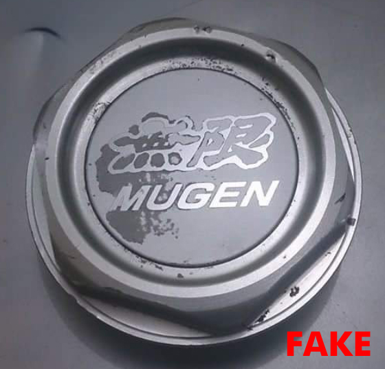 7 Mugen Gen 1 Oil Filler Cap Fake