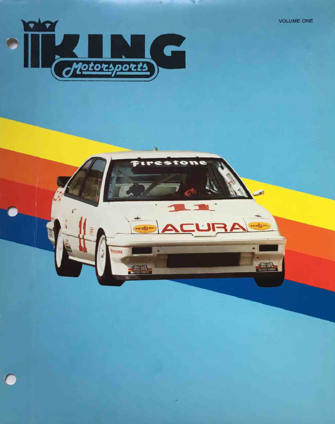 King Motorsports Unlimited Catalog Volume 1