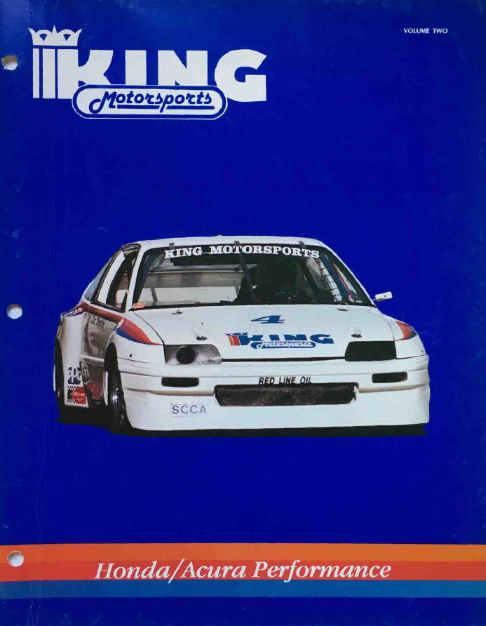 King Motorsports Unlimited Catalog Volume 2