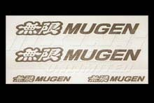 Mugen Decals with Transparent Back