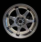 Mugen GP Forged Wheel Gun Metallic Finish - 17x7.5, +52, 5x114.3, 15.8 lbs each