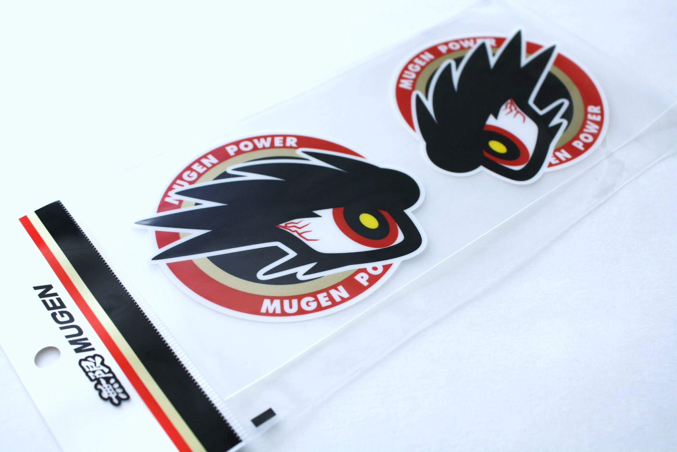 MUGEN Commander Eye Decal Set