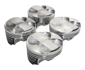 Wiseco K20 Pistons - 9.0:1 Compression Ratio