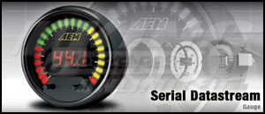 AEM Serial Datastream Gauge