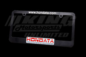 How To Change A Water Pump >> Hondata License Plate Frame HD-LPF - King Motorsports Unlimited, Inc.