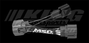 MSD OBD2 to OBD1 Distributor Adapter Cable for Honda Billet Distributor