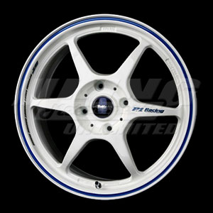 Buddy Club P1 Racing SF Challenge Wheel - 4x100, 15x6.5, 42mm Offset