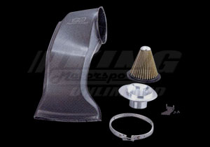 mugen high performance air intake system carbon fiber construction  xgs ks king