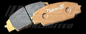 Mugen Competition Brake Pad - Rear