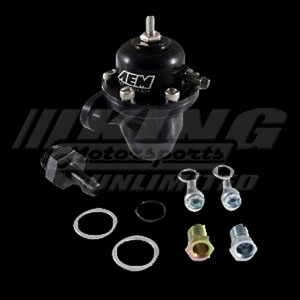 for Acura /& Honda  25-301BK AEM Adjustable Fuel Pressure Regulator Black