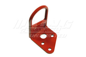 Muge nTow Hooks in High Visibility Red