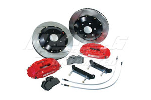 Stoptech Rear Big Brake Kit - ST-22 Caliper, 322x22 Rotor, Deletes E-Brake