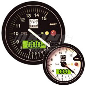 SPA Tachometer / Temp Gauge 12,000 RPM