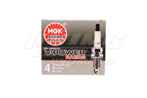 NGK V-Power Spark Plugs - #9 Heat Range (Racing)