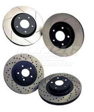 StopTech - SportStop Direct Replacement Rotors - Rear