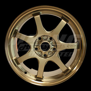 Mugen Gp Forged Wheel Bronze Finish 18x7 5 48 5x114 3
