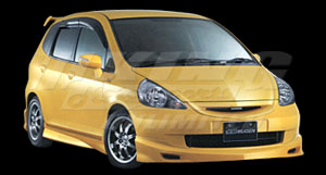 Mugen Ventilated Visor for Honda Fit