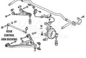 Page2 additionally P 2636 Mugen Rear End Hard Bushings Rear Control Arm Set 2 Piece Set together with  on rear shocks for honda s2000