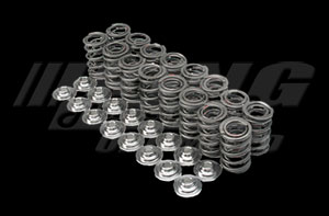 Brian Crower Valve Spring & Retainer Kit, K Series Dual Springs & Steel Alloy Retainers