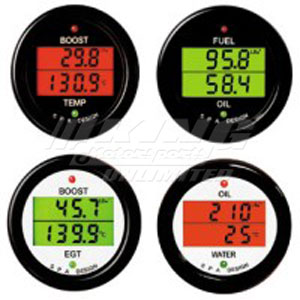 SPA Dual Gauge Oil Pressure /Water Temp
