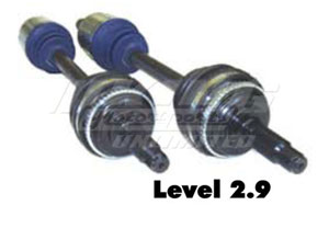 Driveshaft Shop Level 2.9 Axles - up to 475 WHP
