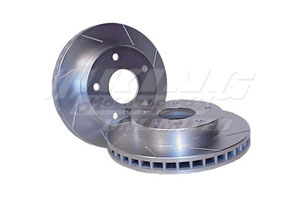 Power Slot Rotors - Rear