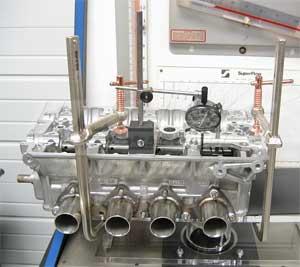 flow bench testing kmsu hpvj fbt king motorsports unlimited