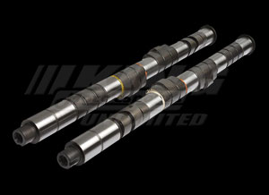 elford H Series VTEC Camshafts - Street Performance - 284/11.80mm, 280/11.30mm
