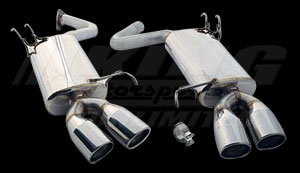 CT Engineering Axle-Back Exhaust System for 09-10 TL & TL SHAWD