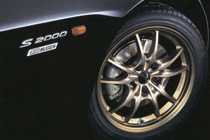 Mugen MF10 Wheels in Bronze