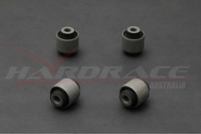 Hardrace Front Upper Arm Bushings Rubber (no hardware)