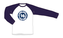 Mugen16 Raglan Long Sleeve Shirt, Blue
