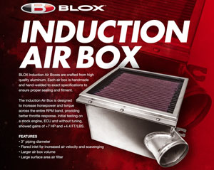 BLOX Racing Induction Air Box