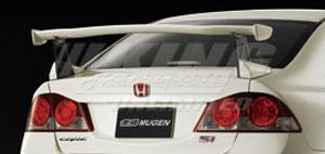 Mugen Aero 2006 2011 Civic 4 Door Adjustable Rear Wing