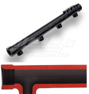 Skunk2 Composite High Volume Fuel Rail - B Series