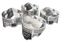 Wiseco B20B w/ B16A Head Pistons - 8.4:1 - 8.8:1 Compression Ratio