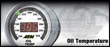 AEM Oil Temp Display Gauge