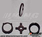 Mugen Limited-Slip Differential Option Parts - LSD 1.5way 58°+20° Pressure Ring Set
