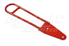 Mugen Tow Hooks in High Visibility Red