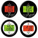 SPA Dual Gauge Fuel Pressure / Water Temp