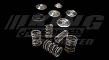 Crower Dual High Pressure Valve Spring / Ti Retainer Set - B Series VTEC