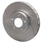 Power Slot Rotors - Front