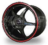 Buddy Club P1 Racing SF Challenge Wheel - 4x100, 17x7, 42mm Offset