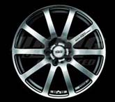 Mugen NR Black Metal Coat - 17x7, +48, 5x114.3