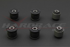Hardrace Rear Knuckle Bushing - Harden Rubber (6 PCS/SET)