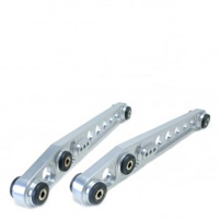 Skunk2  '96-'00 Civic Clear Anodized Rear Lower Control Arms