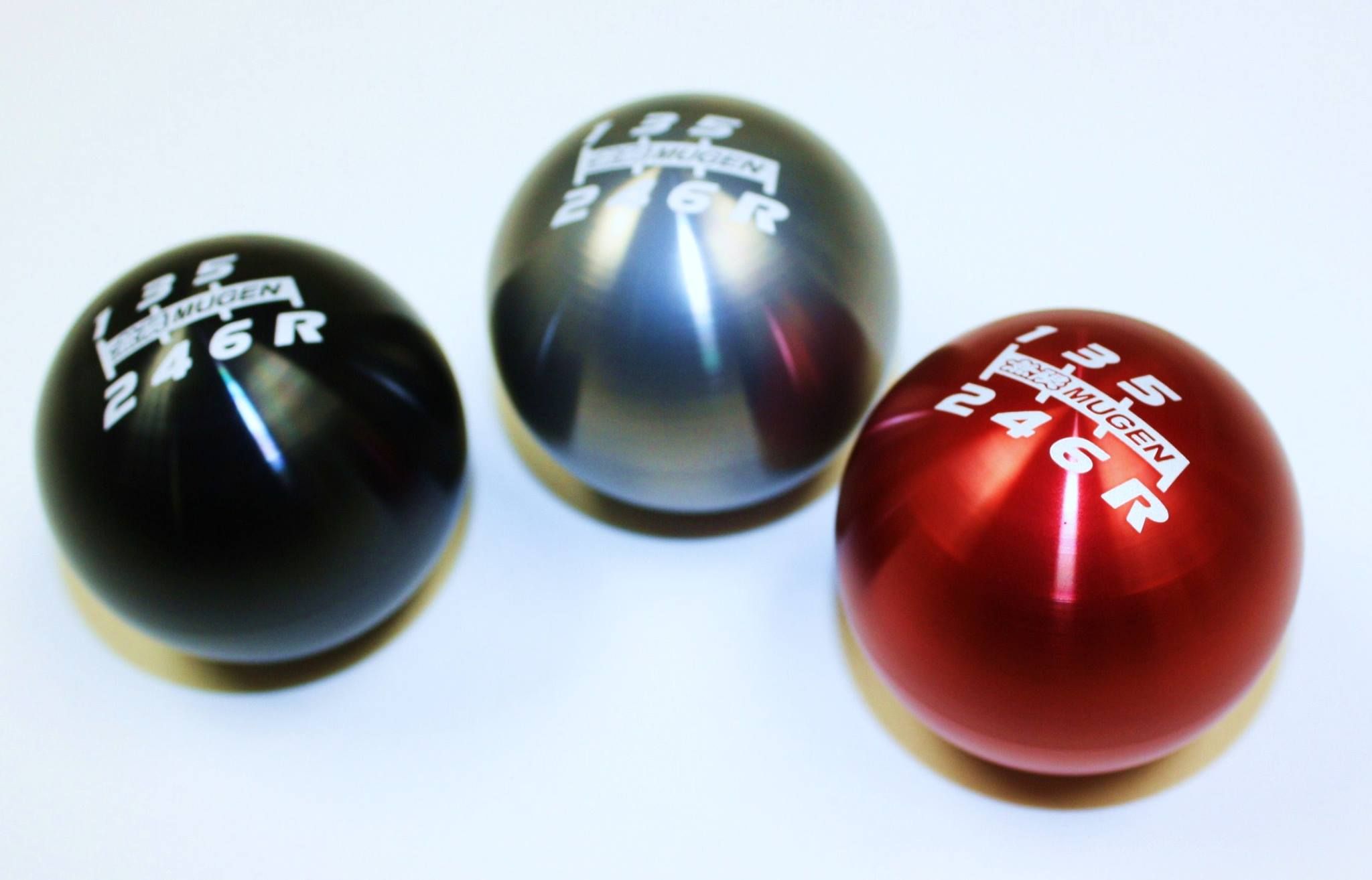 MUGEN Billet Aluminum 6 Speed Shift Knob